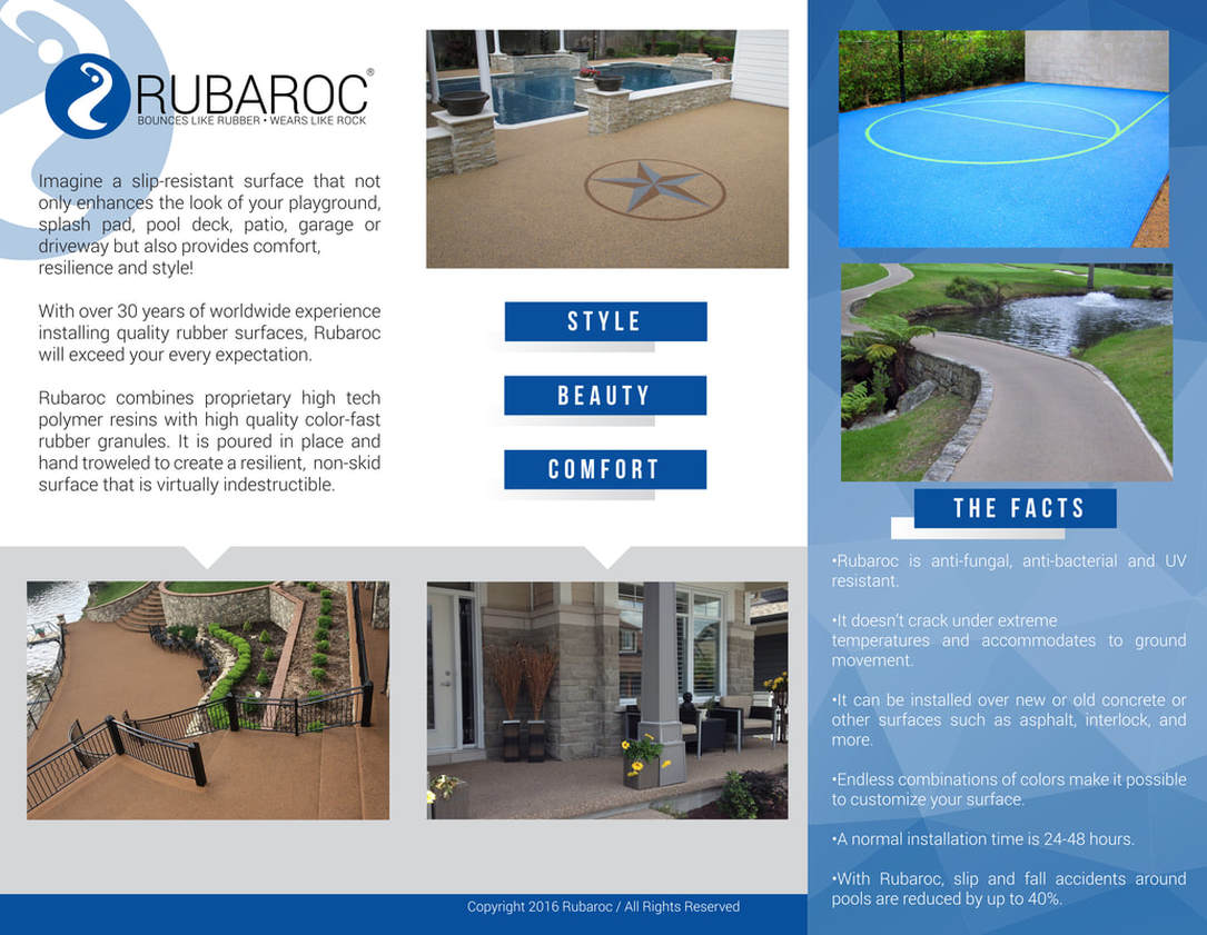 rubaroc polymer surfaces
